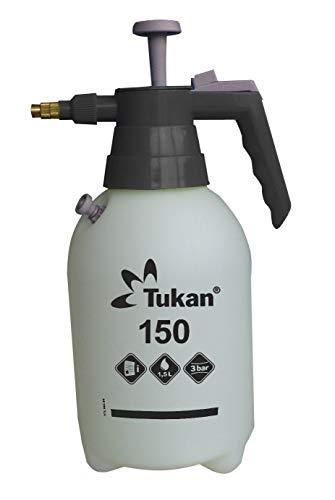 Tukan 150, pulverizador de presión de 1,5 litros con Boquilla de latón Ajustable y...