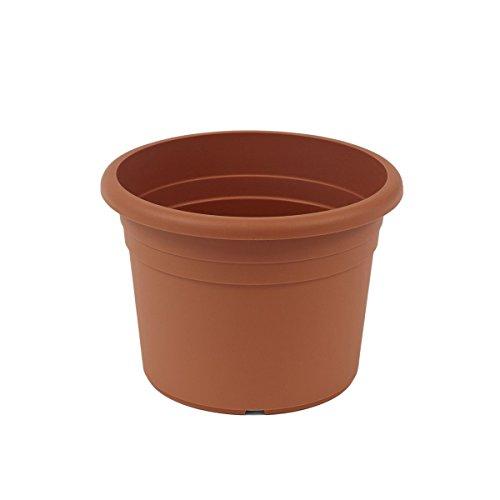 Jardinera greemotion Fiona, maceta de plástico resistente a los rayos UV, maceta con...