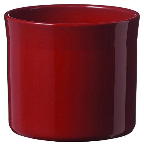 soendgen Maceta para Flores, de cerámica, Modelo Miami, Arcilla, Burdeos, 22 x 22 x...