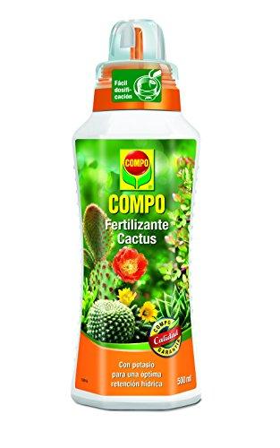 COMPO Fertilizantes para cactus, plantas crasas y suculentas, Fertilizante líquido...