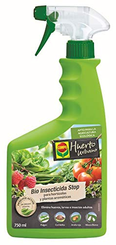 Compo Bio Stop Insecticida para hortícolas, Apto para Agricultura ecológica,...