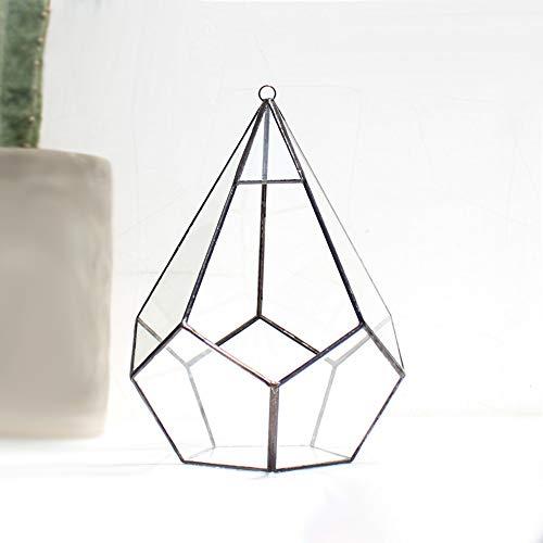 MINGZE geométrico terrario para Colgar, con Estilo de de Cristal Moderno artístico,...