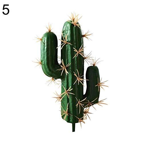 YUnnuopromi Bonsái de espuma artificial de cactus suculenta para oficina,...