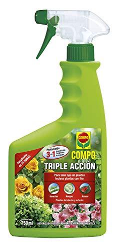 Compo Triple Acción Protección contra Insectos, Hongos y ácaros, para Plantas de...