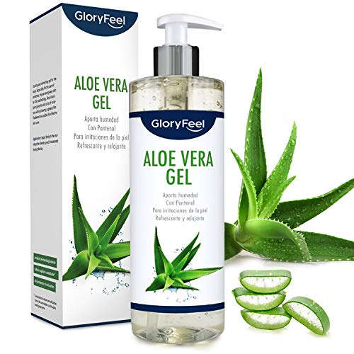 Aloe Vera Puro 500ml - Cultivo controlado 100% ecológico - Hidratante natural -...