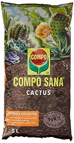 Compo Sana 8 semanas de abono para Todas Las Especies de Cactus y suculentas,...
