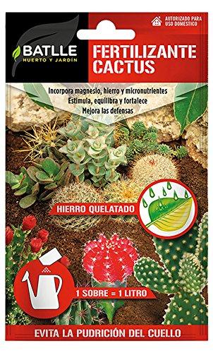 Abonos - Fertilizante Cactus Sobre para 1L - Batlle