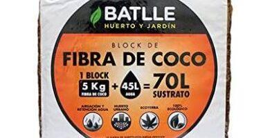 mejor precio fibra coco battle