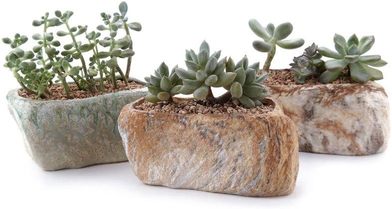 macetas piedra especiales