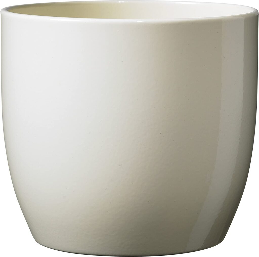 maceta ceramica blanca precio